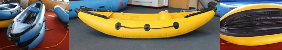 All River Equipment - Self Bailing Inflatable Kayaks - Best