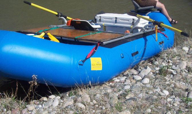 All River Equipment - PVC Self Bailing Rafts - Best Prices on